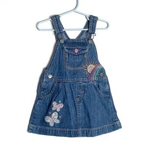OshKosh B'gosh Denim Overall Embroidered Jumper